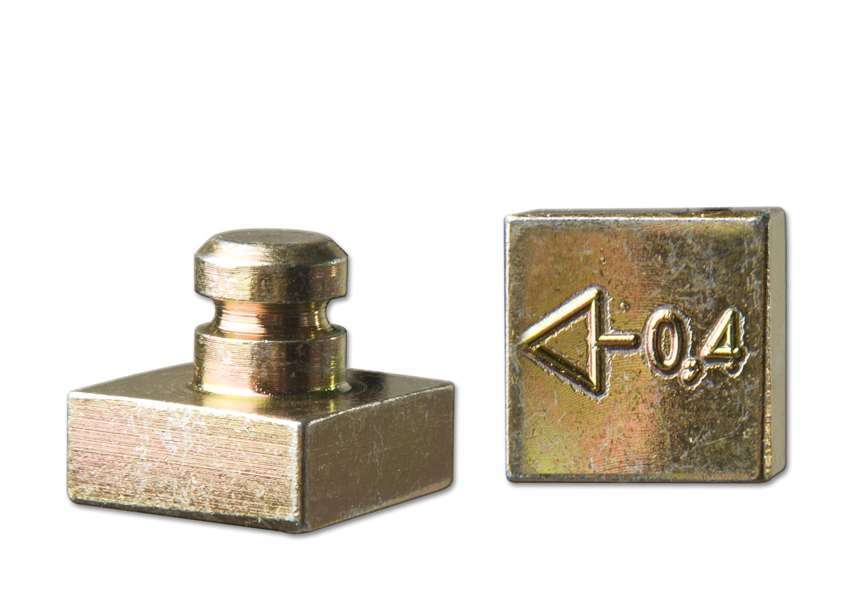 1109-stansraam – excentrisch blokje 0.4 mm